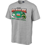 Marshall Thundering Herd vs. Colorado State Rams 2017 New Mexico Bowl Dueling T-Shirt – Heather Gray