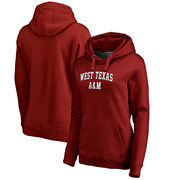 West Texas A&M Buffaloes Fanatics Branded Women's Everyday Pullover Hoodie - Maroon