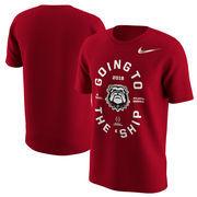 Georgia Bulldogs Nike College Football Playoff 2018 National Championship Bound T-Shirt – Red