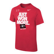 Georgia Bulldogs Nike Youth College Football Playoff 2018 Rose Bowl Champions Locker Room T-Shirt – Red