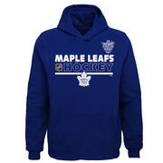 Toronto Maple Leafs Youth NHL Stadium Series Authentic Pullover Hoodie – Blue