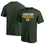 Green Bay Packers NFL Pro Line by Fanatics Branded Youth Iconic Collection Fade Out T-Shirt - Green