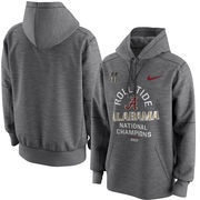 Alabama Crimson Tide Nike College Football Playoff 2017 National Champions Celebration Victory Pullover Hoodie – Charcoal