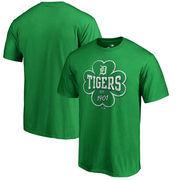 Detroit Tigers Fanatics Branded St. Patrick's Day Emerald Isle Big & Tall T-Shirt - Green