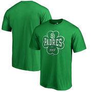 San Diego Padres Fanatics Branded St. Patrick's Day Emerald Isle Big & Tall T-Shirt - Green
