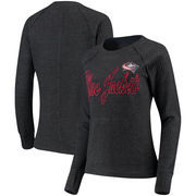 Columbus Blue Jackets G-III 4Her by Carl Banks Women's Off Season Pullover Crew Neck Sweatshirt - Charcoal