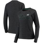 Dallas Stars G-III 4Her by Carl Banks Women's Off Season Pullover Crew Neck Sweatshirt - Charcoal