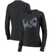 Toronto Maple Leafs G-III 4Her by Carl Banks Women's Off Season Pullover Crew Neck Sweatshirt - Charcoal