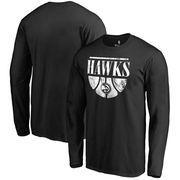 Atlanta Hawks Fanatics Branded Buckets Long Sleeve T-Shirt - Black