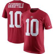 Jimmy Garoppolo San Francisco 49ers Nike Player Pride Name & Number T-Shirt – Scarlet