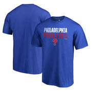 Philadelphia Phillies Fanatics Branded Fade Out Big and Tall T-Shirt - Royal