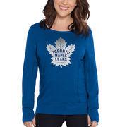 Toronto Maple Leafs Touch by Alyssa Milano Women's Lateral Sweatshirt – Blue