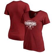Alabama Crimson Tide Fanatics Branded Women's College Football Playoff 2018 Sugar Bowl Champions Goal V-Neck T-Shirt – Crimson