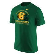 NDSU Bison Nike 2017 NCAA FCS National Champions T-Shirt – Green