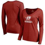 Alabama Crimson Tide Fanatics Branded Women's College Football Playoff 2017 National Champions Official Icon Long Sleeve V-Neck