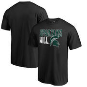 Michigan State Spartans Fanatics Branded Hometown Collection Spartans Will T-Shirt - Black