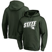 Michigan State Spartans Fanatics Branded Hometown Collection State Pullover Hoodie - Green