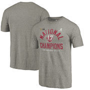 Alabama Crimson Tide Fanatics Branded College Football Playoff 2017 National Champions Long Snap Tri-Blend T-Shirt – Gray