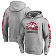 Alabama Crimson Tide Fanatics Branded College Football Playoff 2017 National Champions Motion Pullover Hoodie – Heather Gray