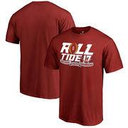 Alabama Crimson Tide Fanatics Branded College Football Playoff 2017 National Champions Neutral Zone T-Shirt – Crimson
