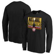 Alabama Crimson Tide Fanatics Branded College Football Playoff 2017 National Champions Pass Long Sleeve T-Shirt – Black
