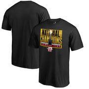 Alabama Crimson Tide Fanatics Branded College Football Playoff 2017 National Champions Pass T-Shirt – Black