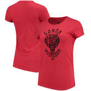 Conor McGregor UFC Reebok Women's Dragon Tiger T-Shirt – Heathered Red