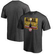 Alabama Crimson Tide Fanatics Branded College Football Playoff 2017 National Champions Big & Tall Pass T-Shirt – Heather Gray