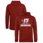 Alabama Crimson Tide Fanatics Branded Youth College Football Playoff 2017 National Champions Official Pullover Hoodie – Crimson