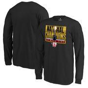 Alabama Crimson Tide Fanatics Branded Youth College Football Playoff 2017 National Champions Pass Long Sleeve T-Shirt – Black