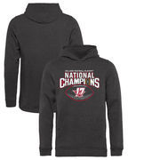 Alabama Crimson Tide Fanatics Branded Youth College Football Playoff 2017 National Champions Pick Six Pullover Hoodie – Heather