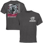 Alabama Crimson Tide College Football Playoff 2017 National Champions Pride T-Shirt – Charcoal