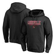 Louisville Cardinals Fanatics Branded True Sport Soccer Pullover Hoodie - Black