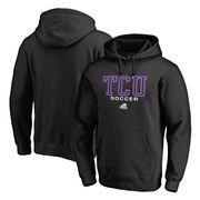 TCU Horned Frogs Fanatics Branded True Sport Soccer Pullover Hoodie - Black