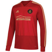 Atlanta United FC adidas 2018 Training Long Sleeve climalite Jersey - Red
