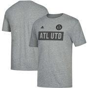 Atlanta United FC adidas Bar None Tri-Blend T-Shirt – Heathered Gray