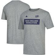 New England Revolution adidas Bar None Tri-Blend T-Shirt – Heathered Gray