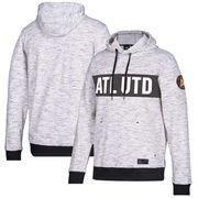 Atlanta United FC adidas Pullover Hoodie – Heathered Gray/Black