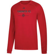 Toronto FC adidas Lined Up Performance Raglan Long Sleeve T-Shirt – Red