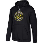 Columbus Crew SC adidas Preferred Patch Pullover Hoodie – Black