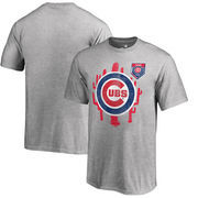Chicago Cubs Fanatics Branded Youth 2018 MLB Spring Training Vintage T-Shirt – Heather Gray