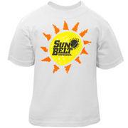 Sun Belt Conference Infant White Conference Logo T-shirt