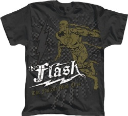 The Flash The Fastest Man Alive Charcoal