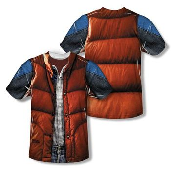 Back to the Future Marty McFly Costume Vest