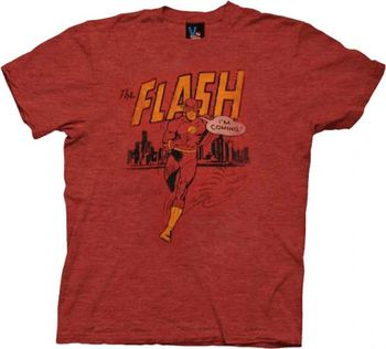The Flash I'm Coming Vintage