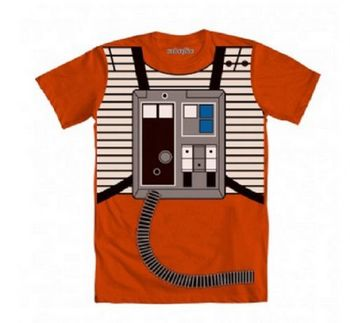 Star Wars Luke Flight Suit Orange Costume