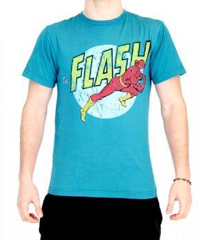 The Flash Distressed Run Teal