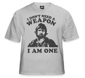 """Chuck Norris """"Don't Need A Weapon"""""""