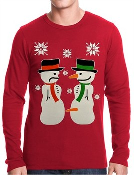 Ugly Christmas Sweater - Dirty Snow Man