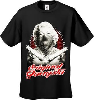 "Marilyn Monroe ""Original Gangster"" Men's T-Shirt"